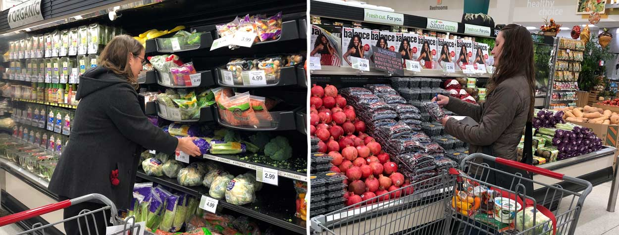 Organic Food - Grocery Store